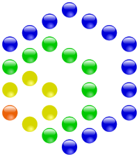 Hexagonal numbers