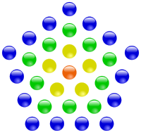 Centered pentagonal numbers